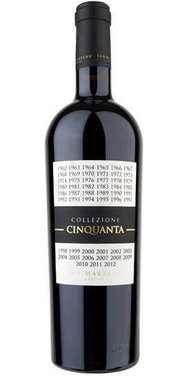 Vino Rosso d'Italia Collezione Cinquanta San Marzano